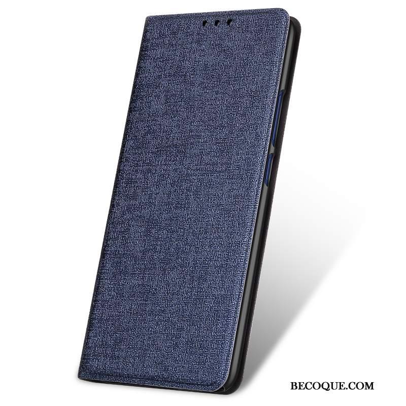 Futerał Huawei Mate 20 Moda Czarnyna Telefon, Etui Huawei Mate 20 Skóra Tendencja Anti-fall
