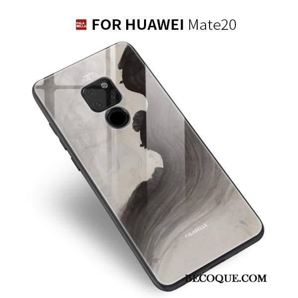 Futerał Huawei Mate 20 Ochraniacz Wiatr Proste, Etui Huawei Mate 20 Torby Tendencja Osobowość