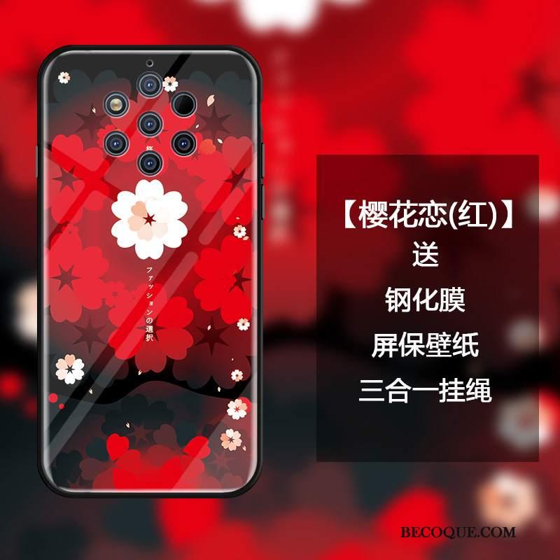 Futerał Nokia 9 Pureview Ochraniacz Szkło Sakura, Etui Nokia 9 Pureview Torby Na Telefon Osobowość
