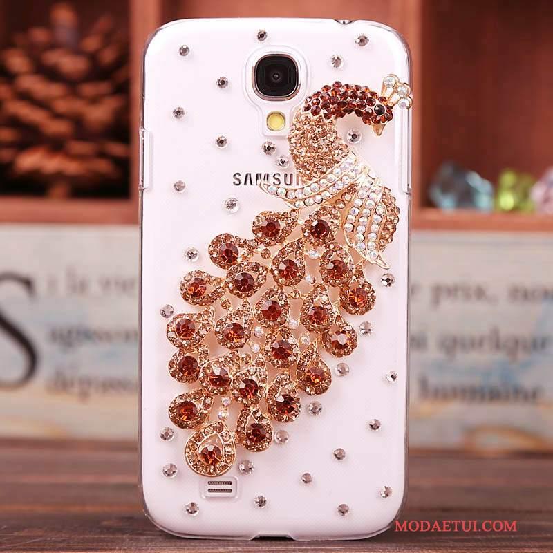 Futerał Samsung Galaxy S4 Rhinestone Czerwony Nowy, Etui Samsung Galaxy S4 Ochraniacz Tendencja