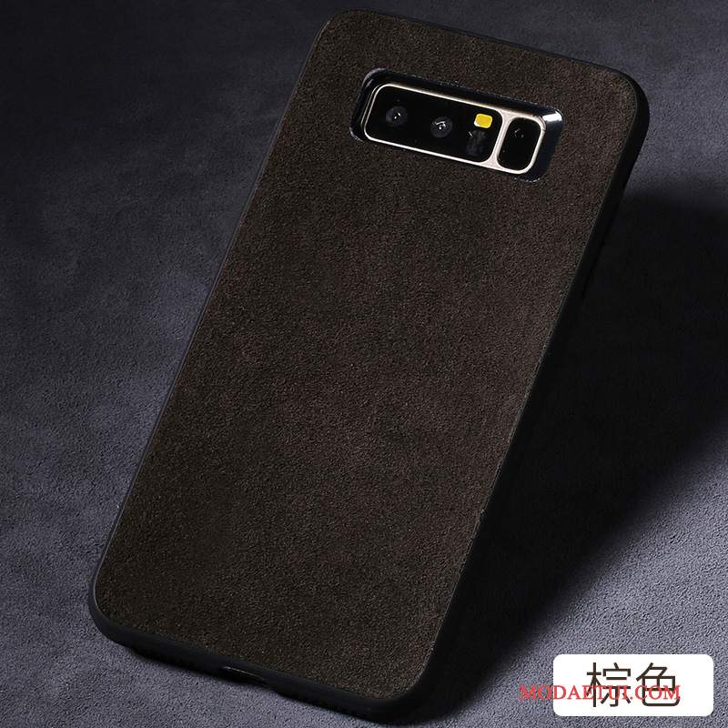 Futerał Samsung Galaxy S8+ Torby Ciemno Szary, Etui Samsung Galaxy S8+ Skóra Na Telefon Anti-fall
