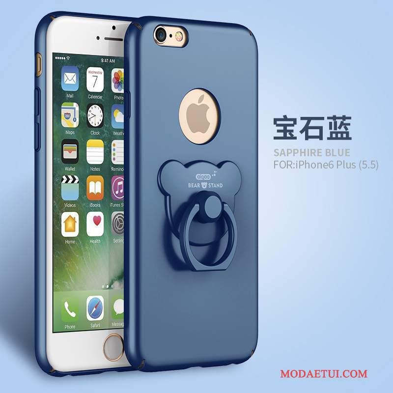 Futerał iPhone 6/6s Plus Wspornik Anti-fall Różowe, Etui iPhone 6/6s Plus Torby Na Telefon Nubuku