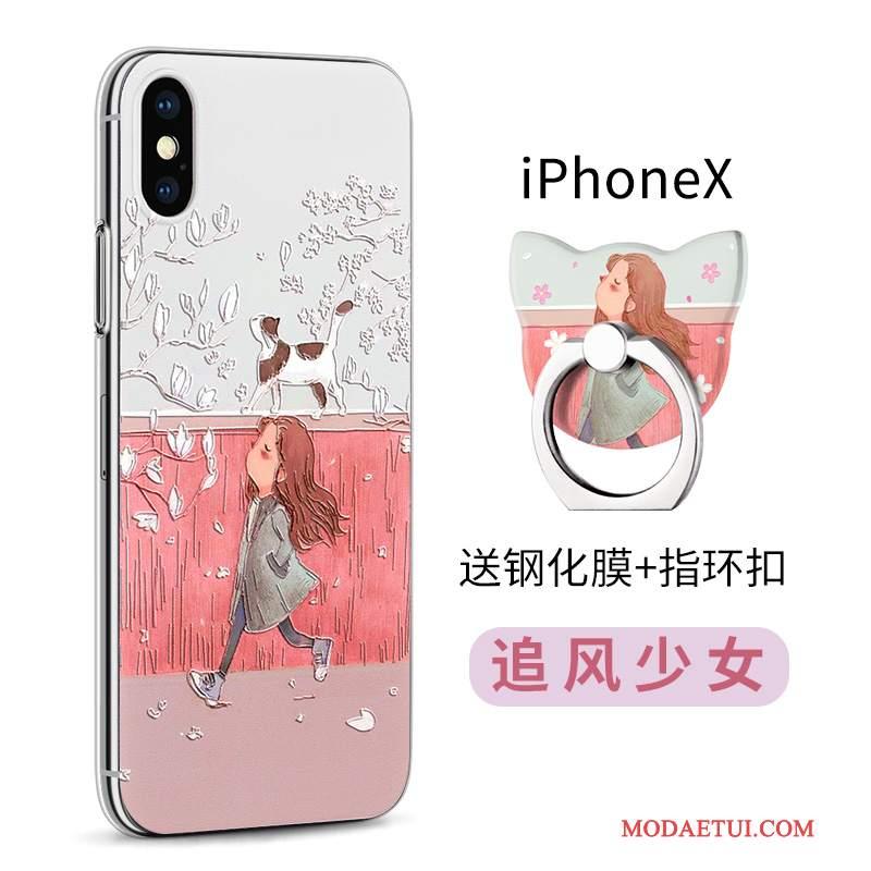 Futerał iPhone X Kolor Przezroczysty Nowy, Etui iPhone X Silikonowe Anti-fallna Telefon