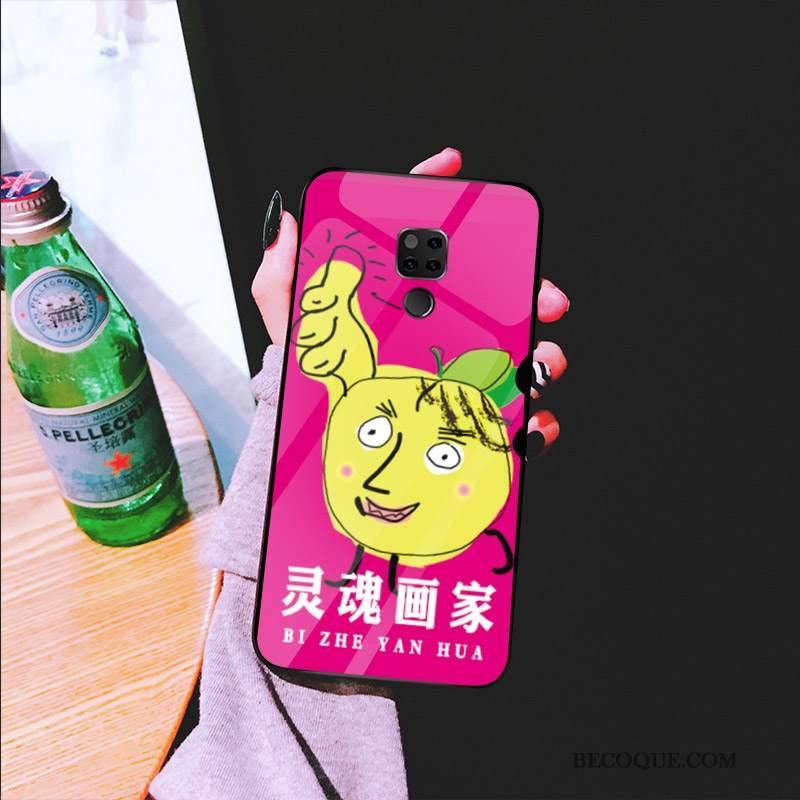 Futerał Huawei Mate 20 Torby Czerwony Netto Osobowość, Etui Huawei Mate 20 Ochraniacz Anti-fallna Telefon