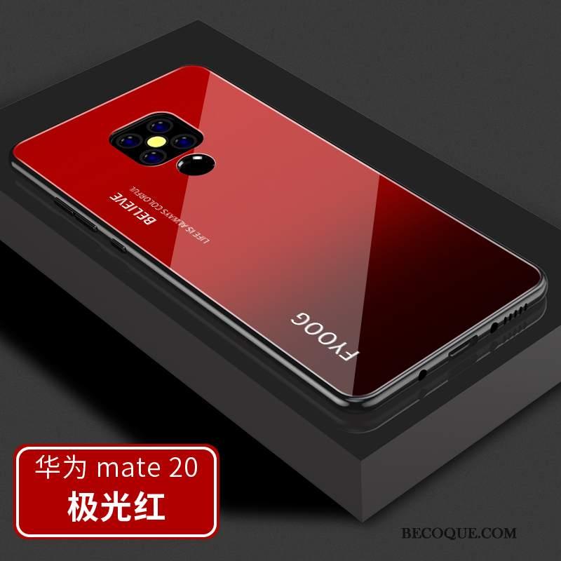 Futerał Huawei Mate 20 Torby Czerwony Osobowość, Etui Huawei Mate 20 Silikonowe Nowy Anti-fall
