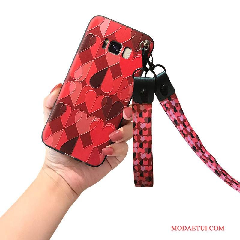 Futerał Samsung Galaxy Note 8 Silikonowe Osobowość Tendencja, Etui Samsung Galaxy Note 8 Wiszące Ozdobyna Telefon