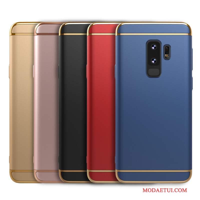 Futerał Samsung Galaxy S9+ Kolor Modna Markana Telefon, Etui Samsung Galaxy S9+ Torby Nubuku Trudno