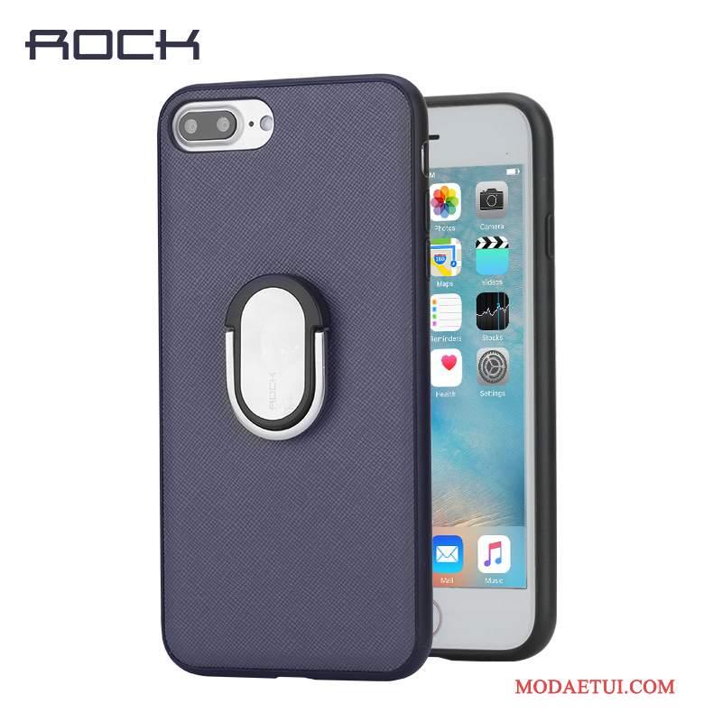 Futerał iPhone 8 Plus Skóra Klamra Nowy, Etui iPhone 8 Plus Wspornik Na Telefon Osobowość