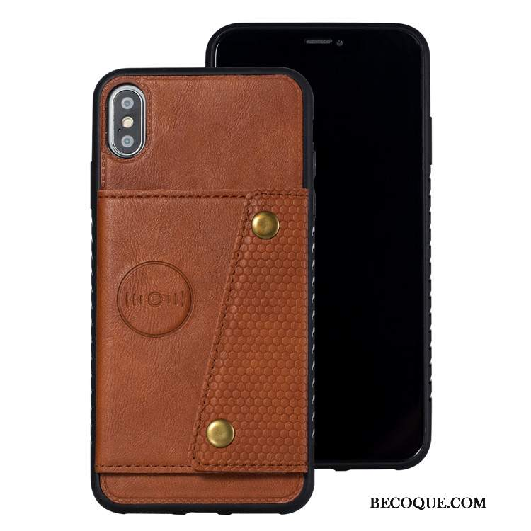 Futerał iPhone Xs Torby Kartana Telefon, Etui iPhone Xs Skóra